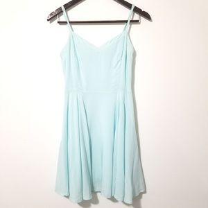 Talula [Aritzia] Lipinski Skater Dress Baby Blue